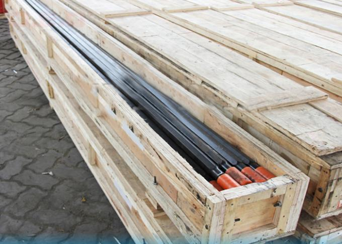 Hardened Tapered Rock Drill Rods , Steel Drill Rod For Mining Quarrying Tunnelling