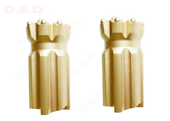 China Rock Drilling Thread Button Bit T45 supplier
