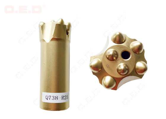 China High Hardness Tungsten Carbide Button Bits R32 For Hydraulic Machine supplier