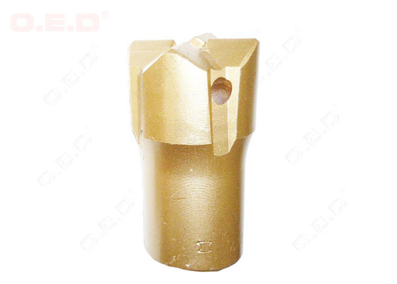 China Rugged 35mm 38mm Small Rock Drill Bits For Rock Or Stone With 12 Degree Hex22 supplier