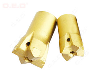 China Coal Mine Button Hard Rock Drill Bits 11 Degree Hex 12 With Long & Short Skirt supplier