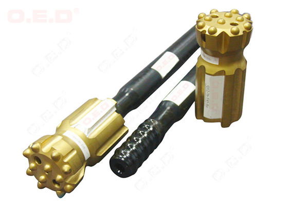 Hex25 Hex28 R25 R28 Rock Drilling Tools MF Hollow Threaded Extension Rod