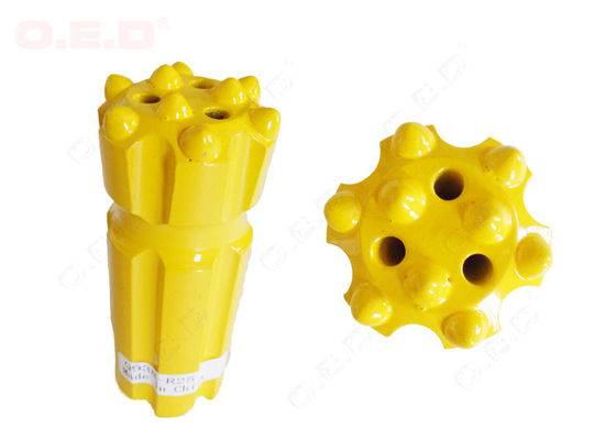 China T38 Bench Drilling Rock Drill Bits Diameter 38mm For Mining Machine Parts distributor