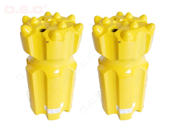 T45 T51 Tungsten Carbide Threaded Drill Bits Hydraulic Drifters Diameter 41mm