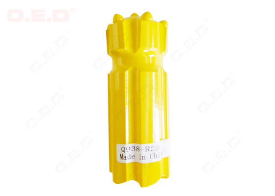 China Short R32 R38 Thread Button Bit , Yellow Hard Carbide Rock Drill Bits distributor