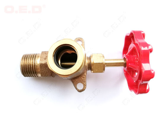 China High Efficiency Oil Field Accessories NPT C3771 High Pressure 2 Inch Brass Valve distributor