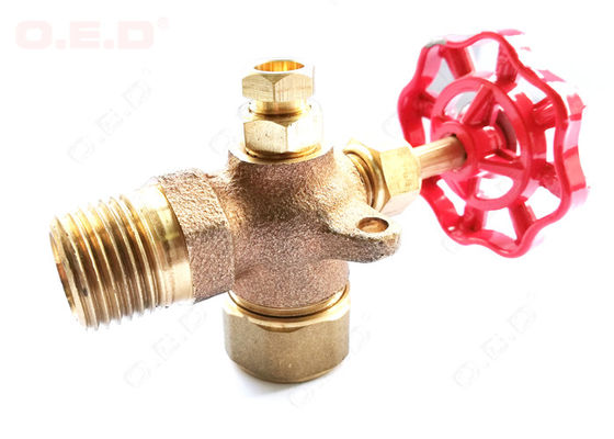 "China Reliable Oil Field Accessories 1/4""-4""  Female Thread Brass Forged Gate Valve distributor"