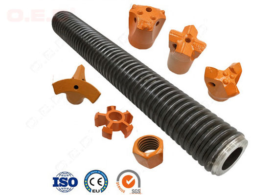 China T40/16 Rock Bolting Hollow Self Drilling Rock Anchor For Soil Nailing factory